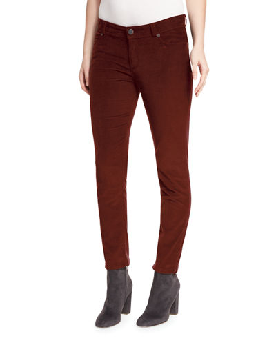 Mathias Corduroy Cropped Pants
