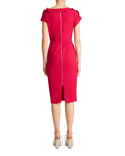 Brenin Crepe Dress