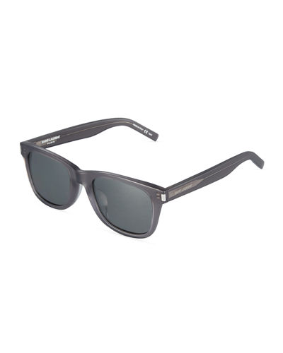 Translucent Square Plastic Sunglasses