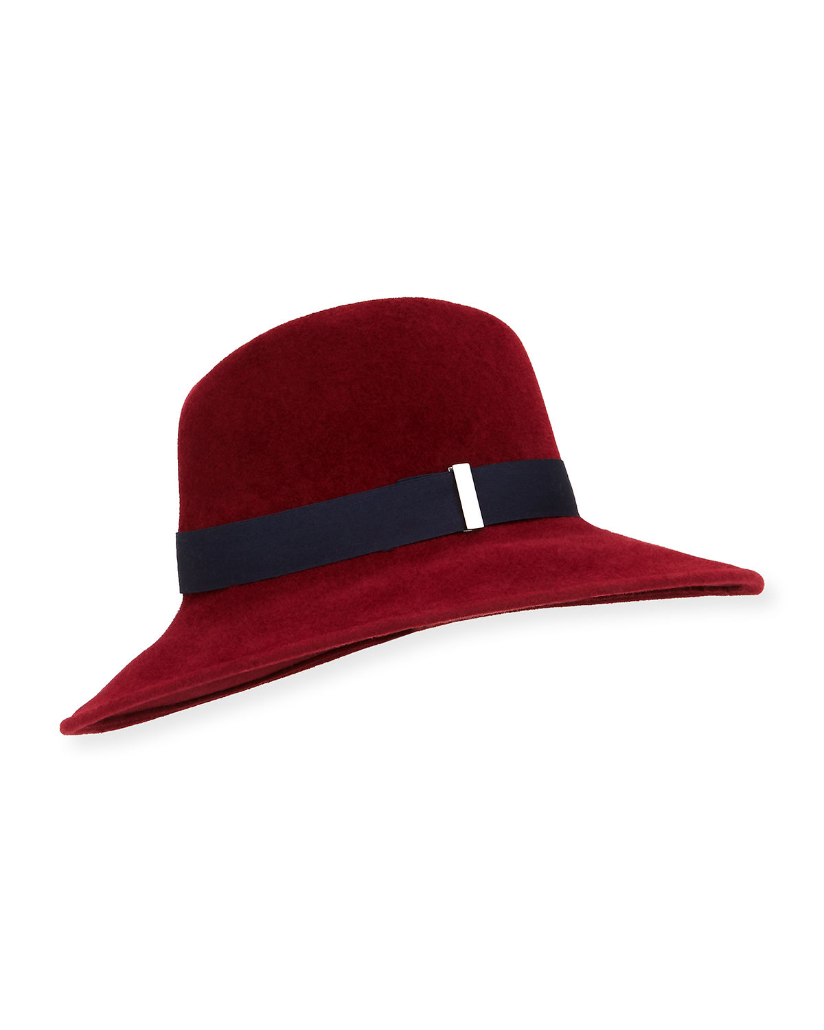 Requiem Hand-Blocked Wide-Brim Fedora