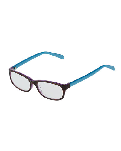 Accomplished Square Plastic Eyeglasses