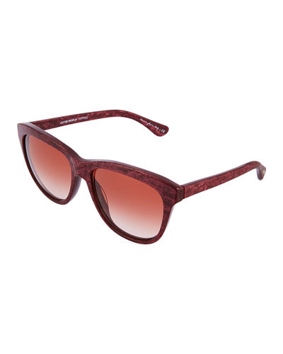 Reigh Cat-Eye Plastic Sunglasses