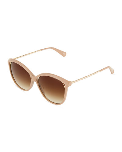 Cat Eye Thin Sunglasses