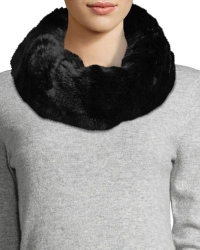 Faux-Fur Cowl Collar