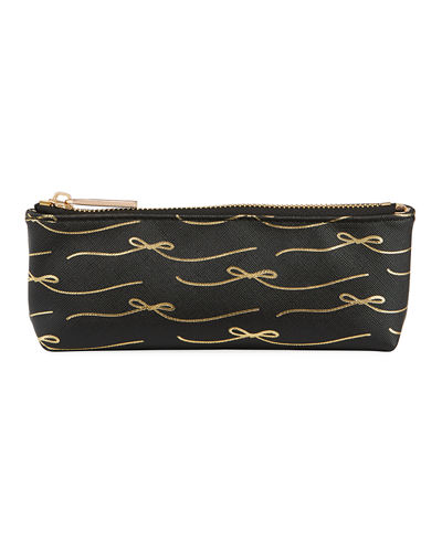 Saffiano Conversation Pencil Case