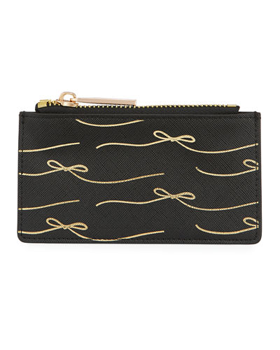 Saffiano Conversation Card Case