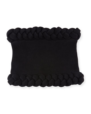 TODD AND DUNCAN Macro Cable Snood in Black