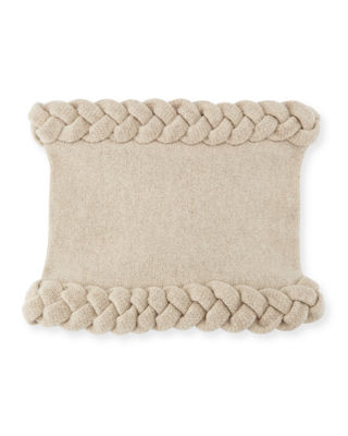 TODD AND DUNCAN Macro Cable Snood in Khaki