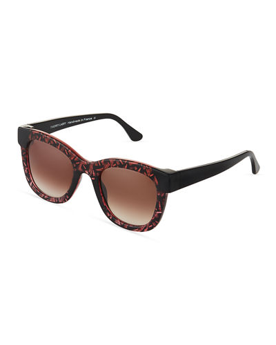 Chromaty C12 Plastic Square Sunglasses