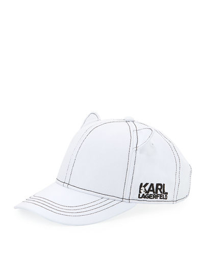 Cat Ear Baseball Hat