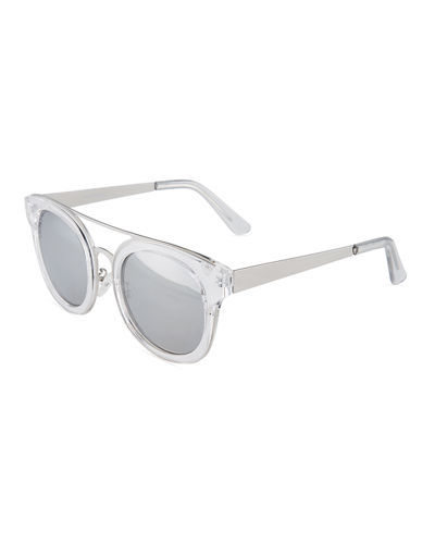 Brooklyn Round Plastic Sunglasses