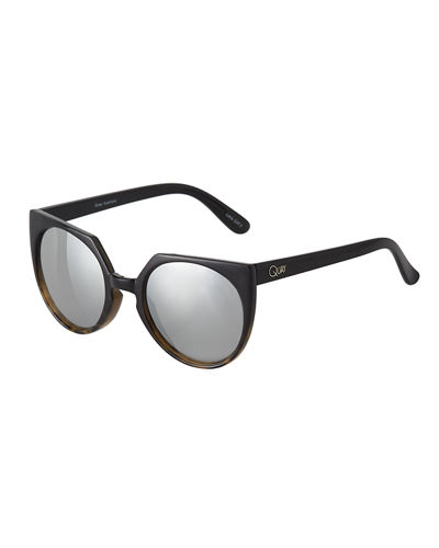 Give and Take Round Acetate Sunglasses
