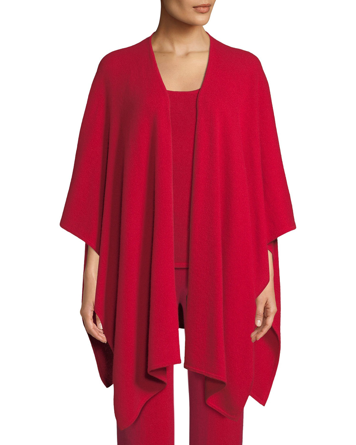 Neiman Marcus Accessories CASHMERE LOUNGE SHAWL