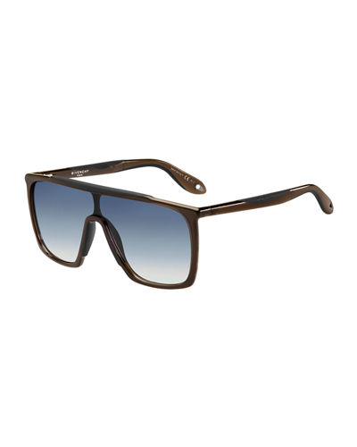 Square Gradient Shield Sunglasses