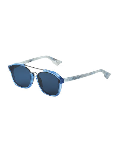 Dior Square Havana Acetate Sunglasses