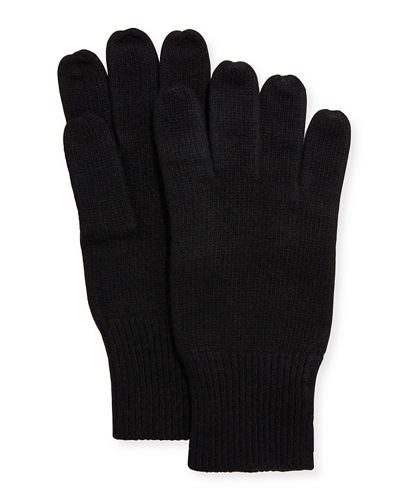 Men's Cashmere Jersey Gloves