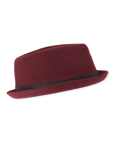 Men's Wool Porkpie Hat