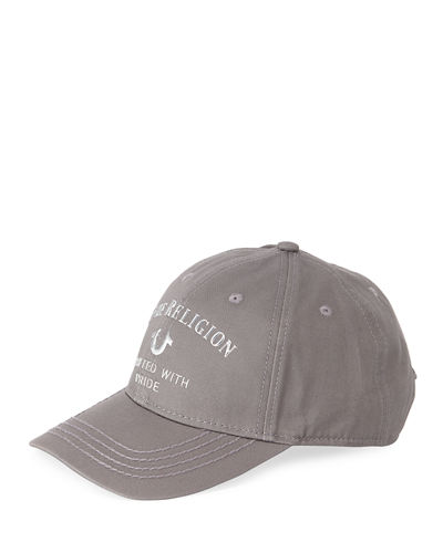 Men's Baseball Cap w/ Metallic Details