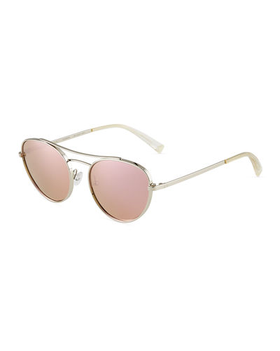 Yasmin Metal Aviator Sunglasses