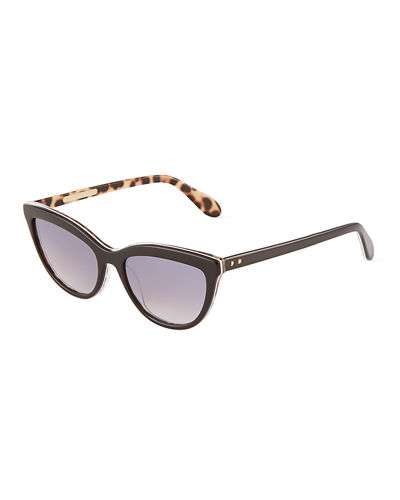 Slim Kitten Acetate Cat-Eye Sunglasses