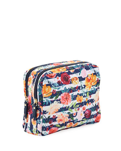 Double Zip Cosmetic Bag