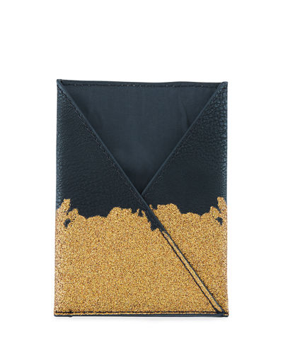 Jet Setter Faux-Crocodile Passport Wrap