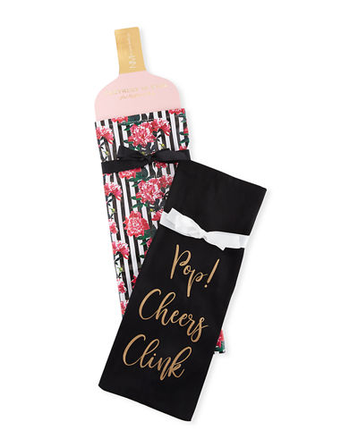 Partners in Wine Hostess Wine Bags  Set of 2