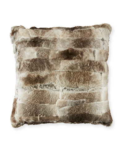 Rabbit Fur Pillow
