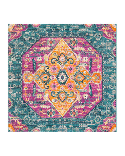 "Madison Indoor/Outdoor Rug, 6'7"" Square"