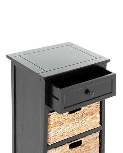 Carrie Storage Side Table