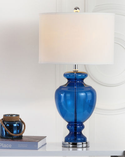 Morocco Urn-Shaped Table Lamps, Set of 2