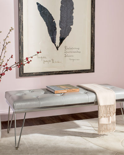 Marcella Tufted Bench
