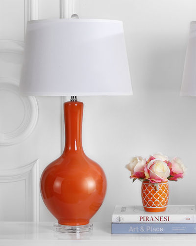 Blanche Gourd-Shaped Table Lamps  Set of 2
