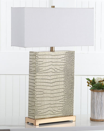 Joyce Rectangular Table Lamps  Set of 2