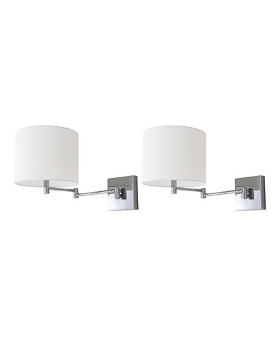 Lillian Swing Arm Wall Sconces  Set of 2