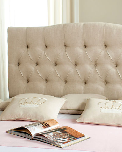 Axel Tufted Headboard, Queen
