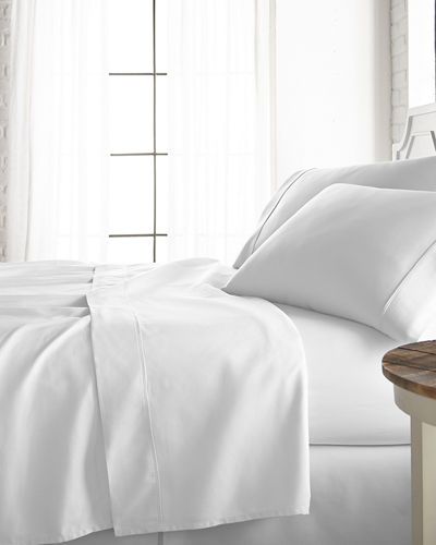 Cotton-Rich 800 Thread Count 4-Piece Bed Sheet Set  California King