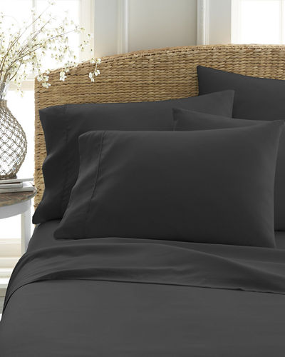 Ultra-Soft 6-Piece Bed Sheet Set  California King