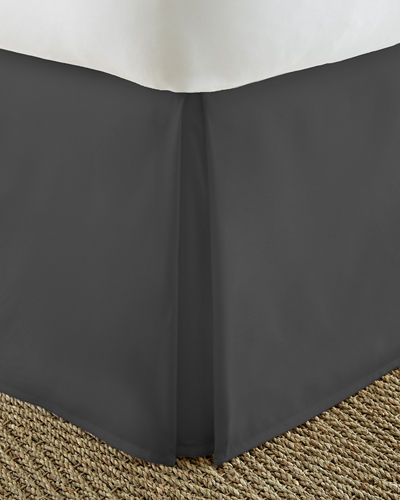 Ultra-Soft Pleated Bed Skirt  King