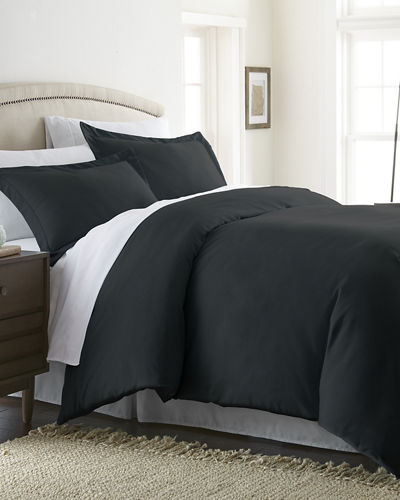 Ultra-Soft 3-Piece Duvet Cover Set  Queen