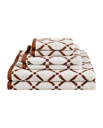 Diamond 6-Piece Towel Set