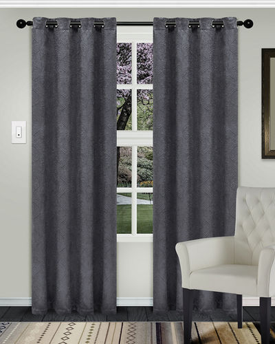 Waverly Blackout Curtain Panel Pair  108