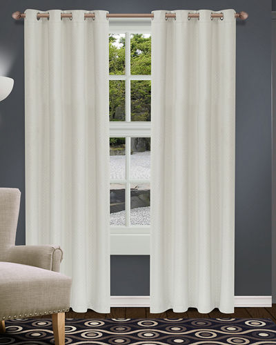 Shimmer Blackout Curtain Panel Pair  96