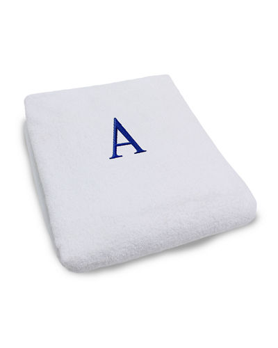 Lounge Towel with Initial
