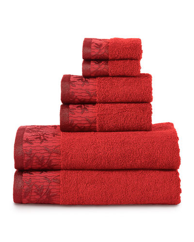 Wisteria 6-Piece Towel Set