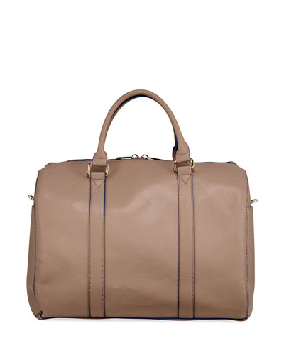 Large Zip-Top Weekender Duffel Bag