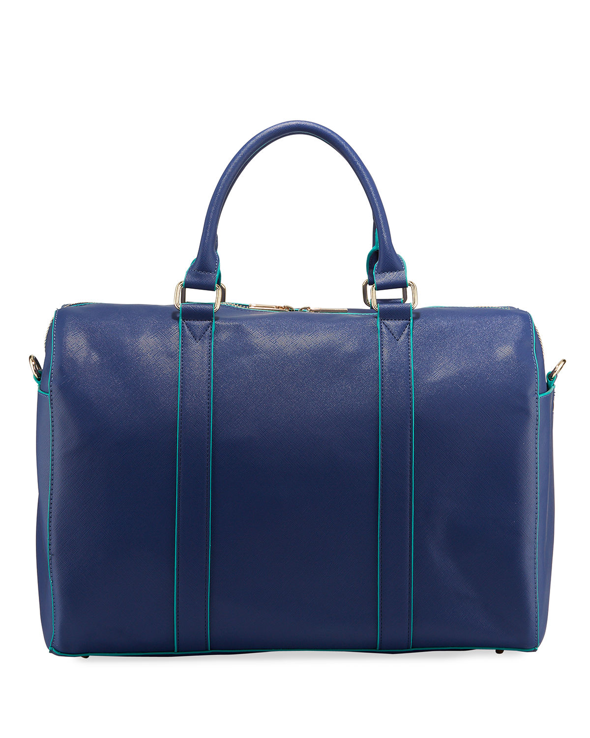 Large Zip Top Weekender Duffel Bag