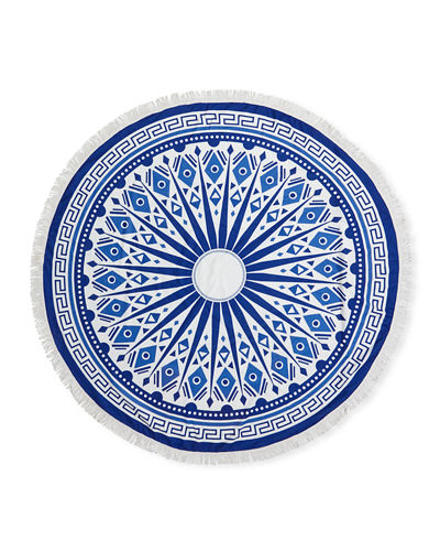 Extra-Large Round Beach Towel