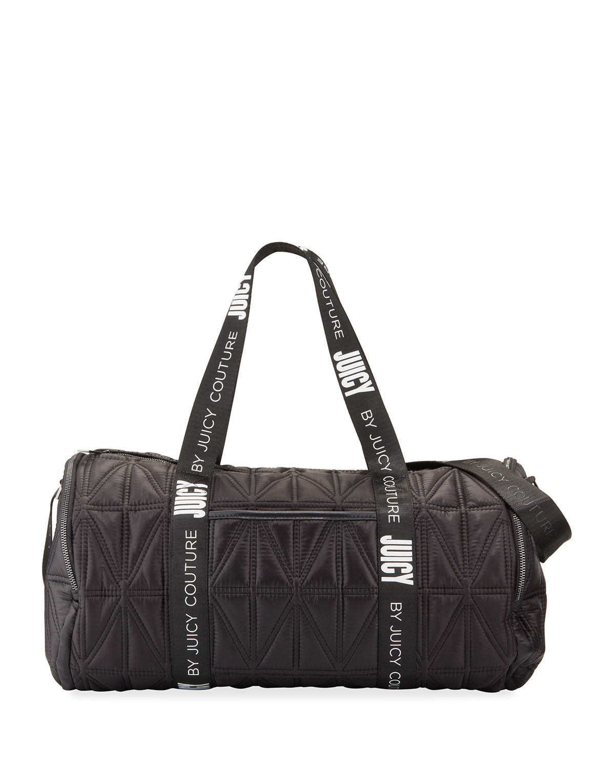Sunset Zip Top Patchwork Nylon Duffel Bag