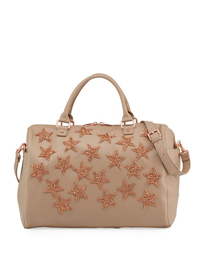 Beaded Star Weekender Bag